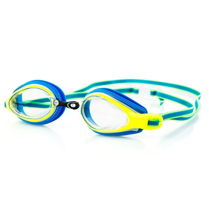 Spokey KOBRA Plavecké brýle, modro-žlté
