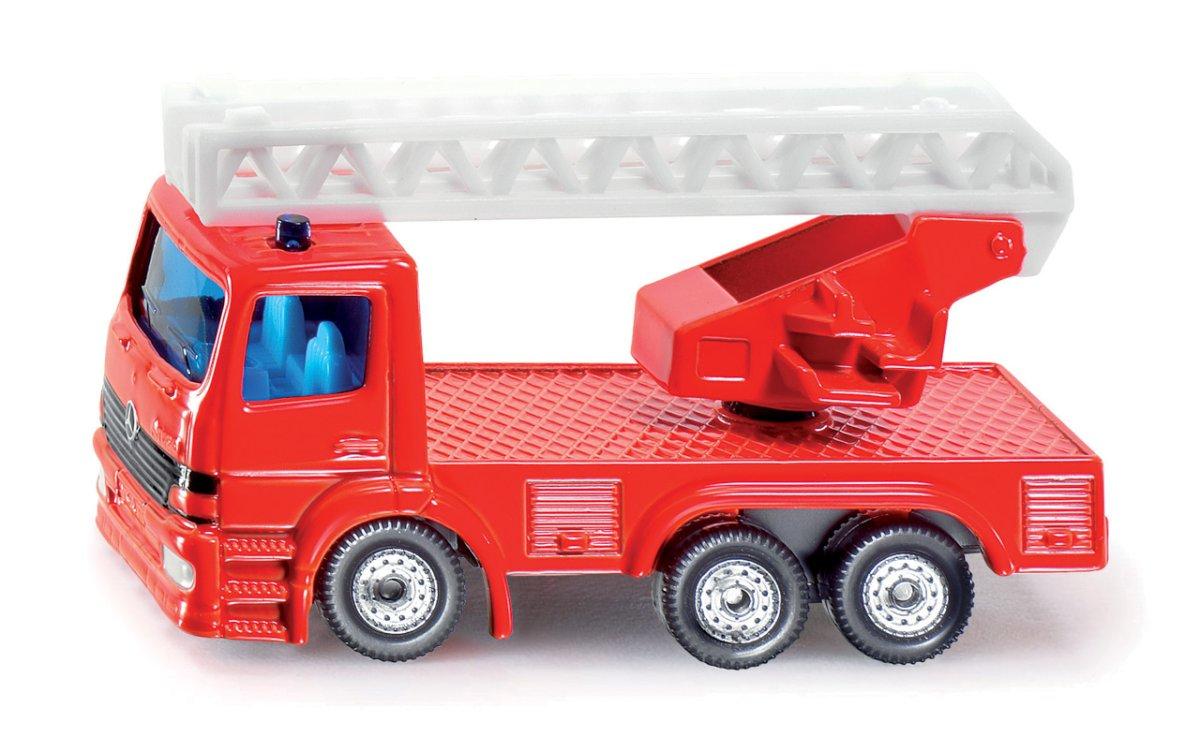 SIKU Blister - Otočné požární auto se žebříkem