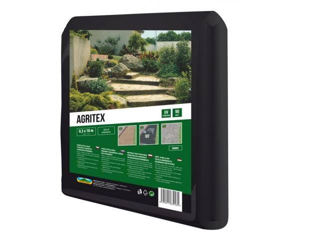 Textilie AGRITEX mulčovací tkaná černá 0,5x10m 90g