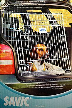 Klec do auta Dog Residence mob.zkos.š61xhl91xv71cm Sav