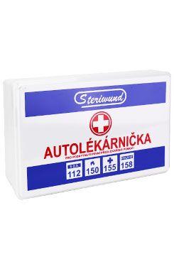 Autolékárnička I vyhláška č. 341/2014 Sb. plast 1ks