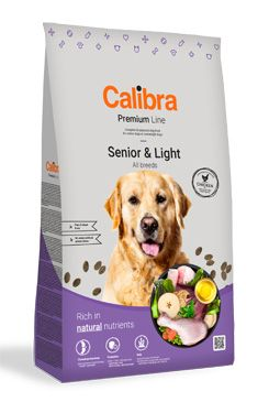Calibra Dog Premium Line Senior & Light 3 kg NOVÝ