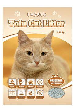 Podestýlka Smarty Tofu Cat Litter-Original bez vůně 6l