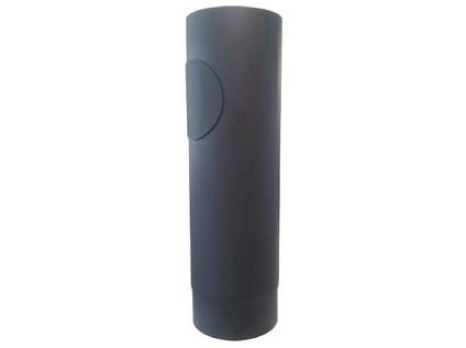 roura kouřová s otv.120mm/ 500 t.1,5mm ČER
