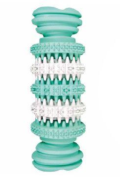 Hračka TRIXIE Denta Fun gumová kost mátová 11,5 cm (1ks)