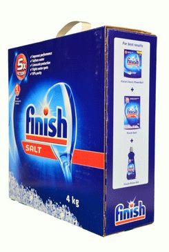 Sůl do myčky FINISH 4kg