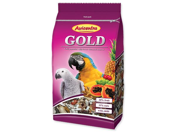 AVICENTRA Gold pro velké papoušky (850g)