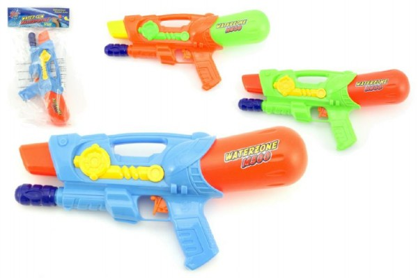 Vodní pistole 30cm plast - mix barev