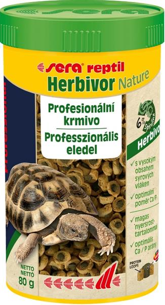 Sera Profesional Herbivor Nature - plaz 250 ml