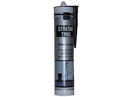 tmel střešní bitumenový 310ml ČER SILVER LINE