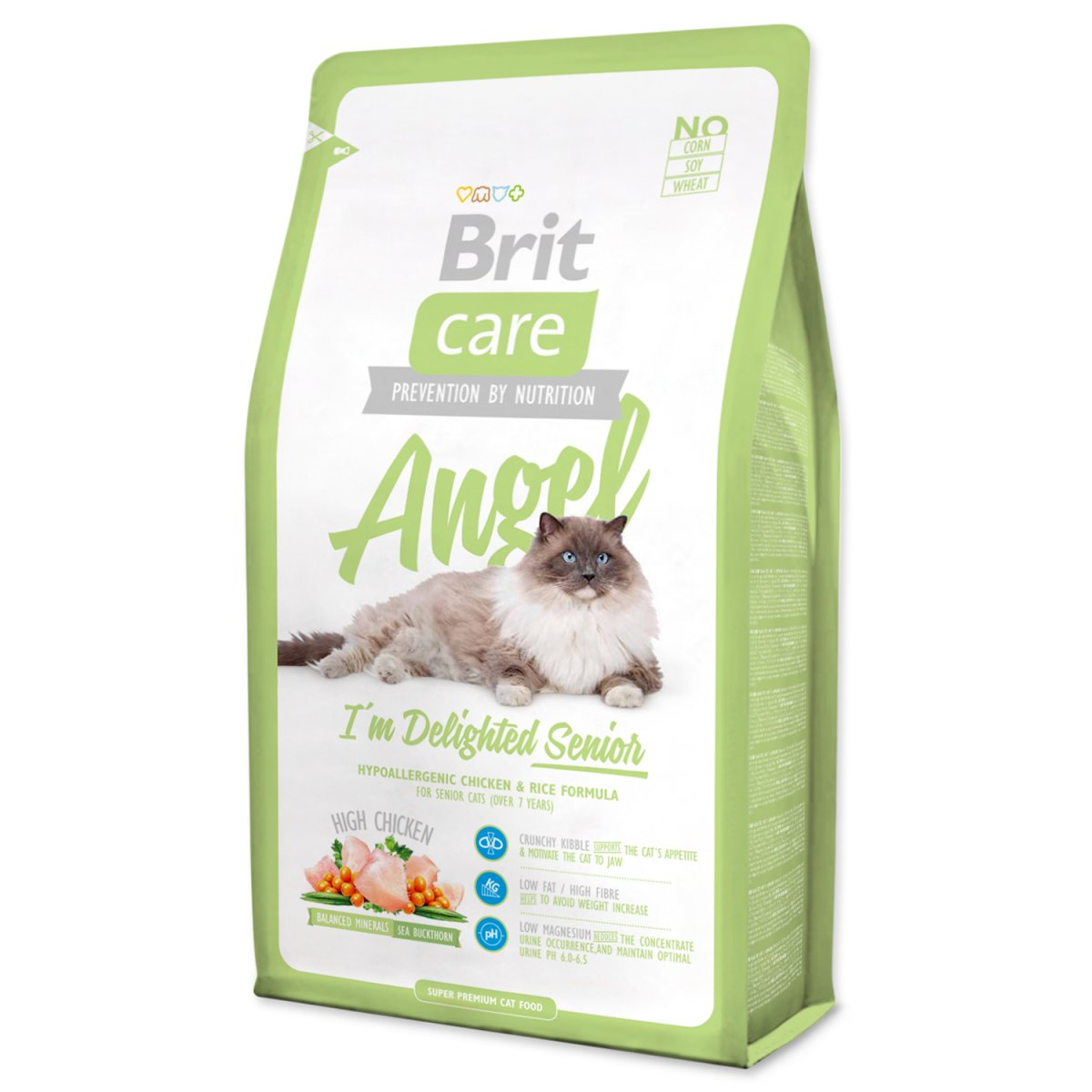 BRIT Care Cat Angel I`m Delighted Senior (400g)