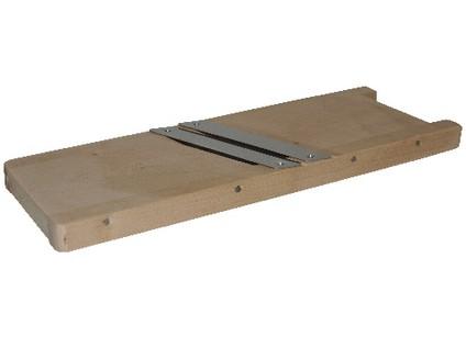 kruhadlo na zelí 37cm, 2 nože, dřev.