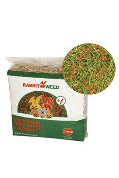 Seno luční s mrkví RabbitWeed 0,6kg 1,9 l
