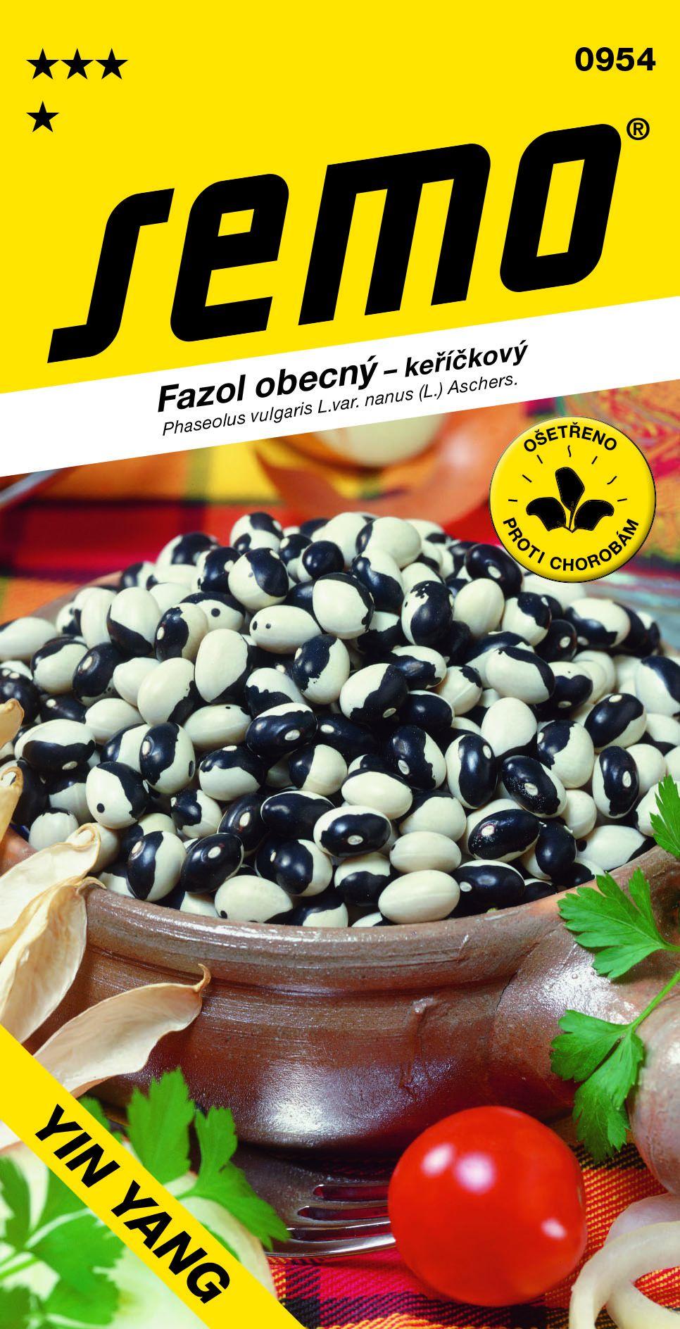 Semo Fazol keříčkový bílo-černý - Yin Yang 10g