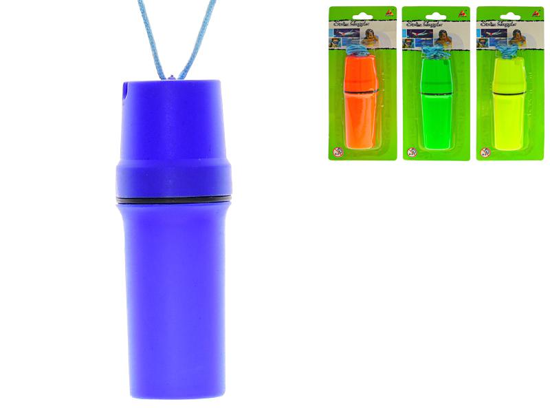 Pokladnička na krk 11 cm - mix barev