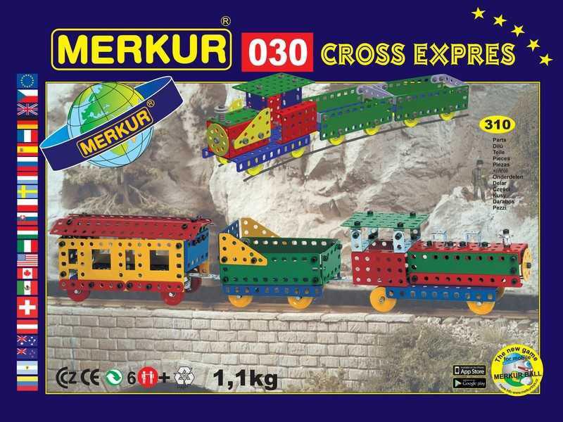 Merkur 030 Cross expres, 310 dílů, 10 modelů