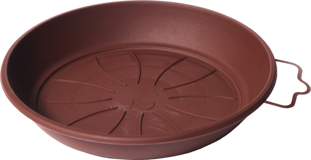 Plastia miska Azalea - čokoládová 16 cm