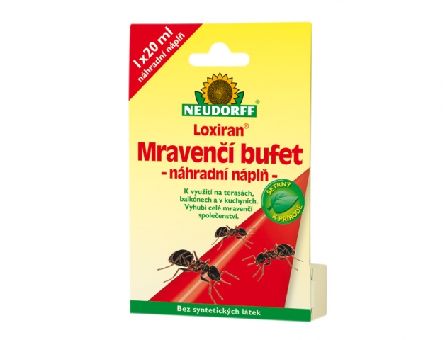 Insekticid LOXIRAN NEUDORFF náplň do Mravenčího bufetu 20ml