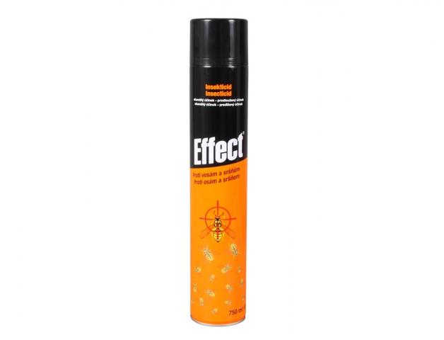 sprej proti vosám a sršňům, insekticid EFFECT, 750ml aerosol