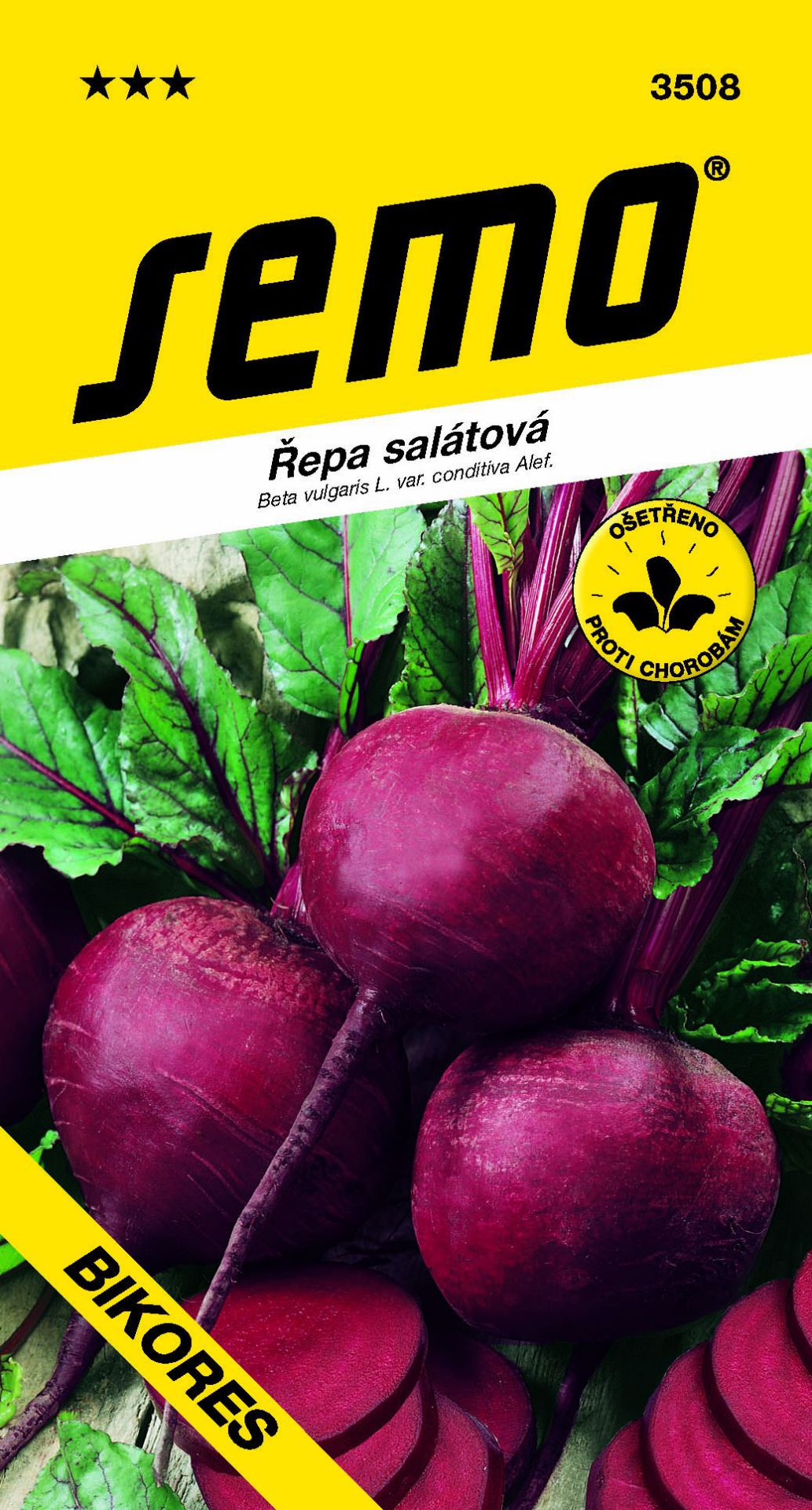Semo Řepa salátová - Bikores kulatá 60s