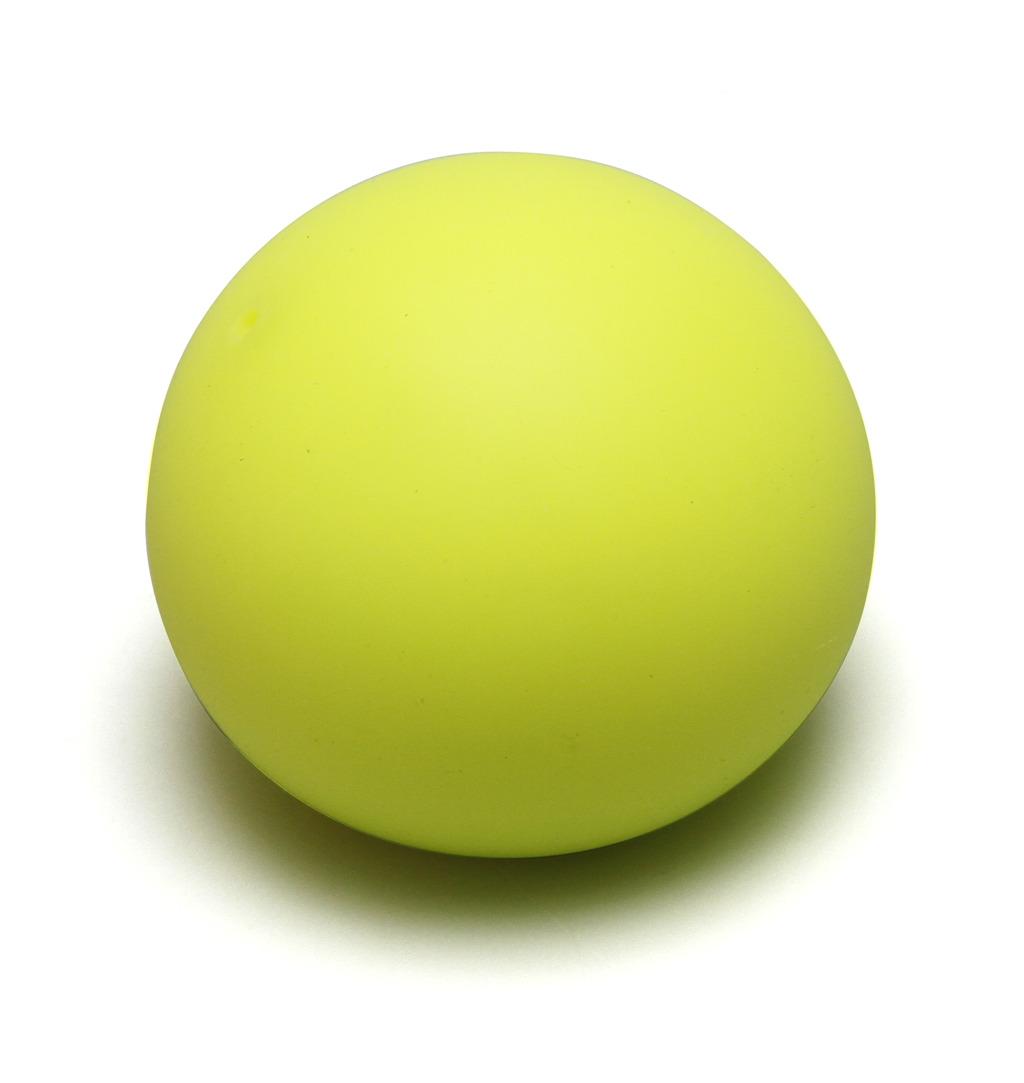Antistresový míček 6,5 cm - svítící ve tmě