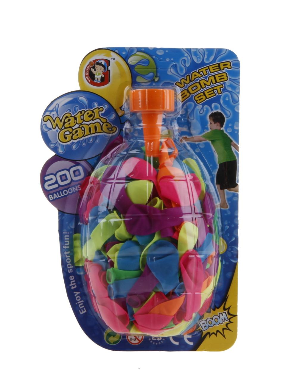 Vodní bomby 200ks