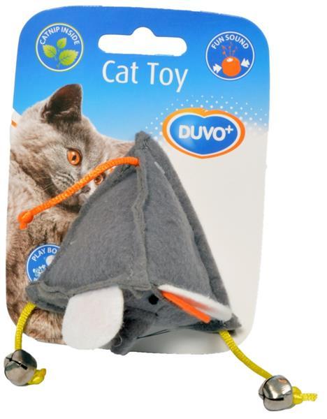 Hračka cat textil pyramida DUVO+ 1ks
