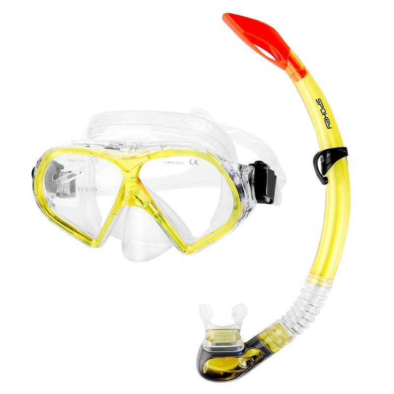 Spokey FLONA dámska sada pro potápění maska+šnorchl