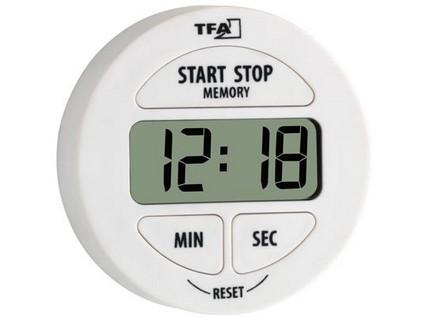 minutka digitální se stopkami pr.5,5cm BÍ