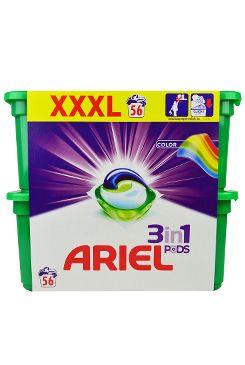 Prací prostředek Ariel Color gel.kapsle 56ks