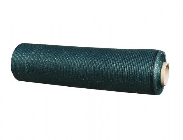 Stínovka PE 65% s oky zelená 1,5x50m