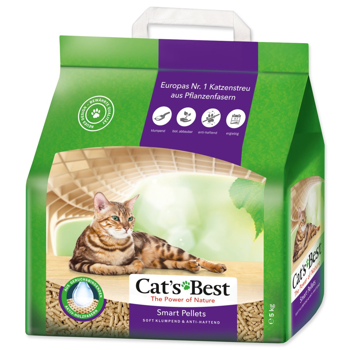 Kočkolit JRS Cat`s Best Smart Pellets 5 kg (10l)