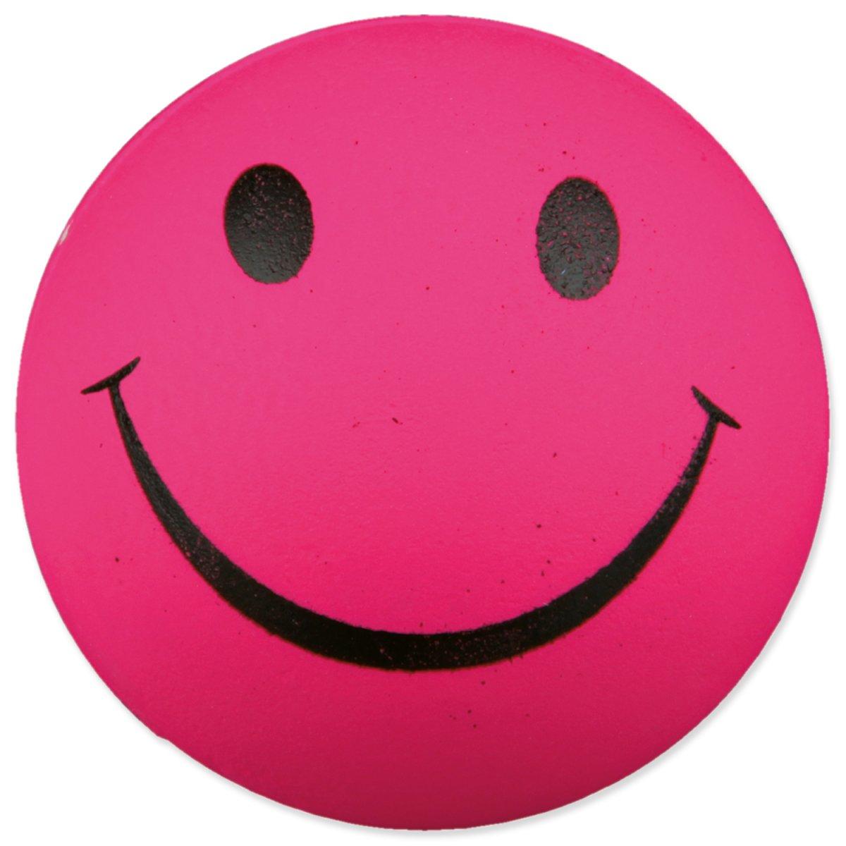 Hračka TRIXIE míček smajlík gumový 6 cm (1ks)
