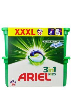 Prací prostředek Ariel Mount.Spring gel.kapsle 56ks