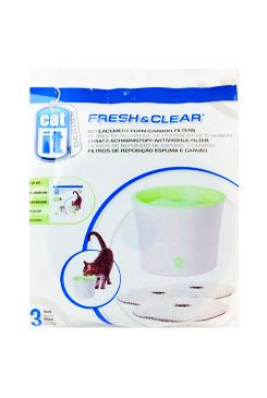 Náhradní filtr molitan+uhlí pro fontány CAT IT NEW 3ks