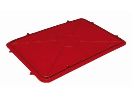 víko na přepravku na maso T25 + T50 plastové, 56x40x3,3cm