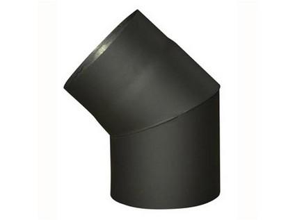 koleno kouřové 200mm/45st. t.1,5mm ČER