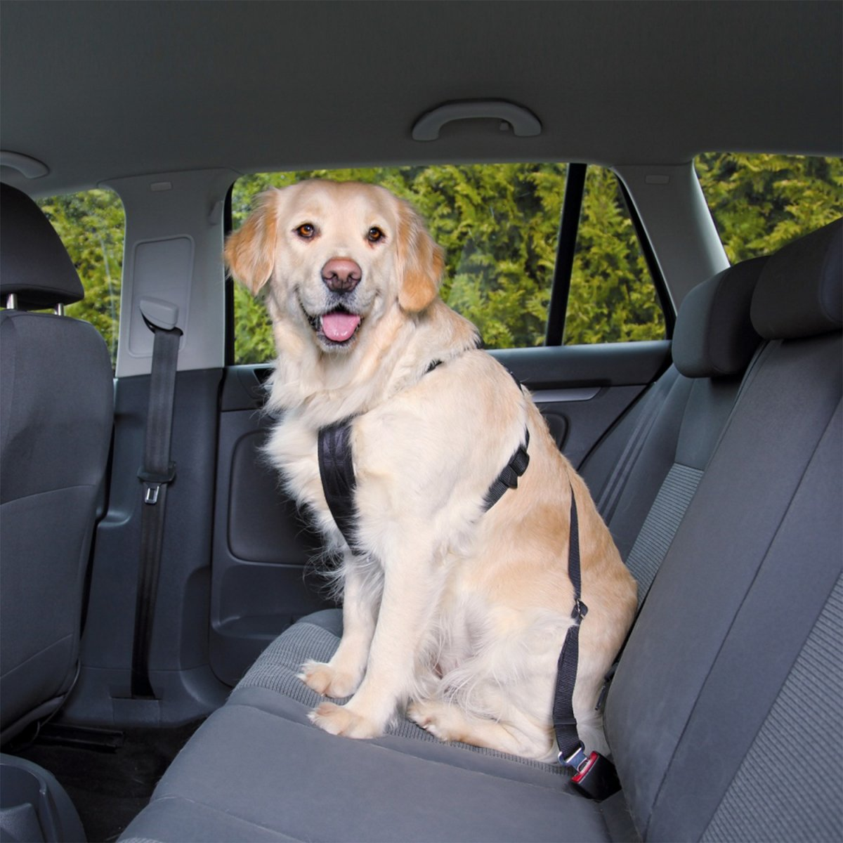Postroj TRIXIE bezpečnostní do auta M (1ks)