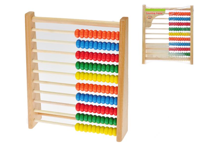 Počítadlo dřevěné 25x21,5x6 cm