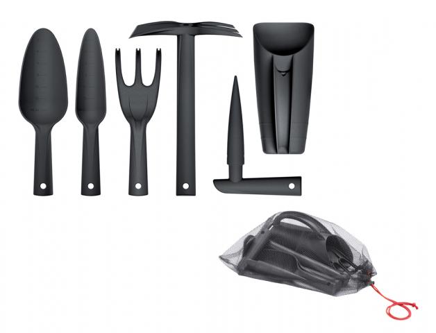 Set nářadí RESPANA plastový černý 6ks