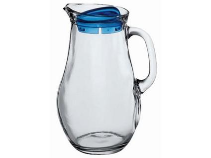 džbán skleněný BISTRO 1800ml, plastové víčko