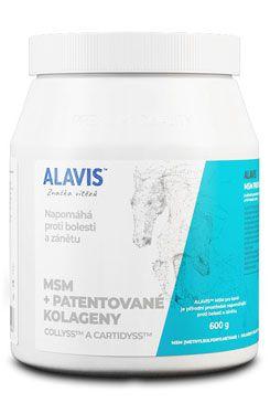 Alavis MSM pro koně + vitamin C plv 600g