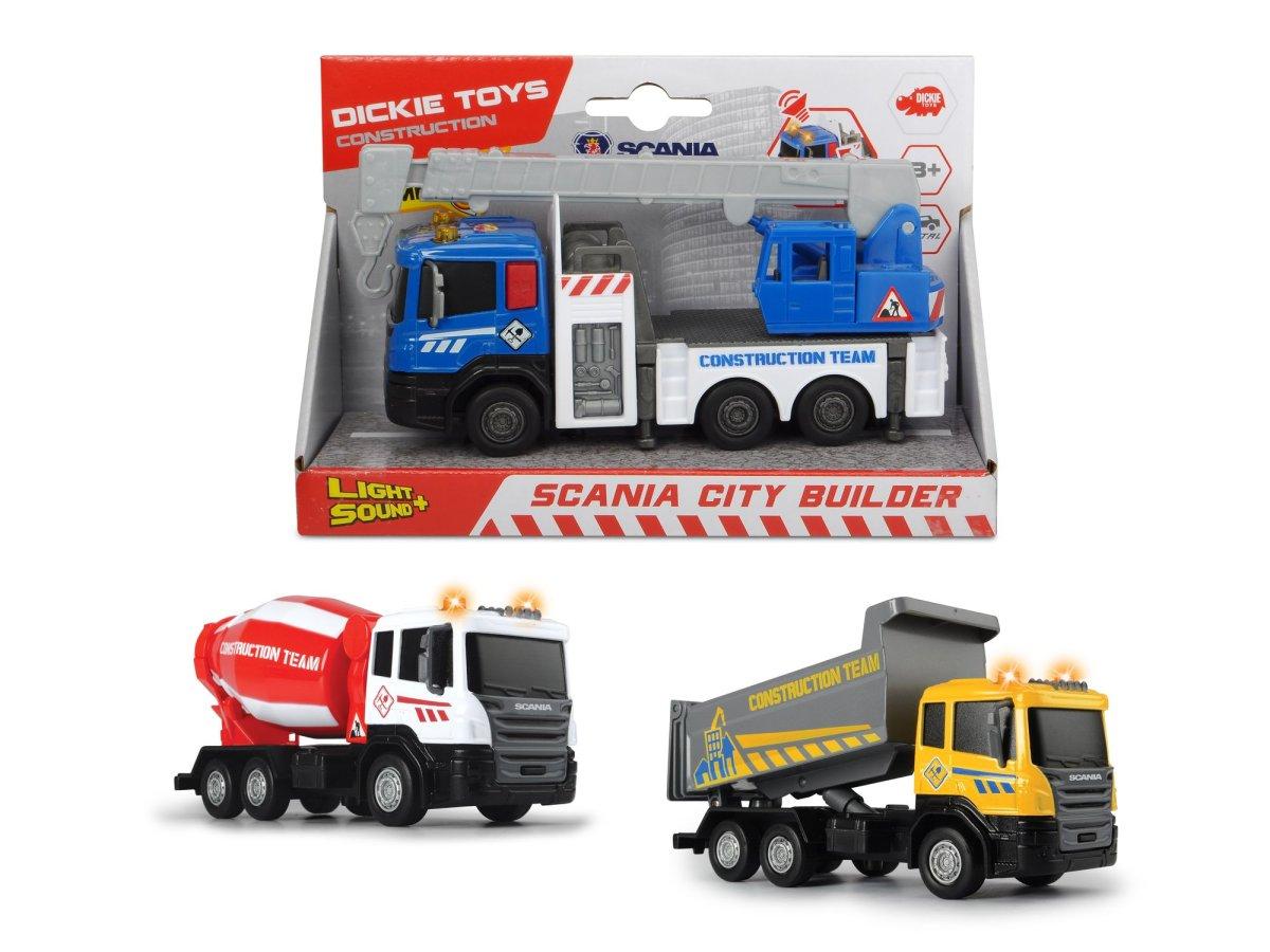 Dickie Nákladní auto Scania City Builder - mix variant či barev