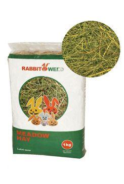 Seno luční RabbitWeed 1kg 40 l