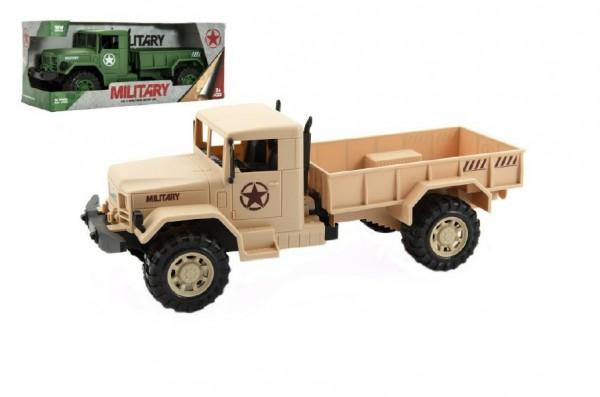 Auto vojenské nákladní plast 30cm - mix barev