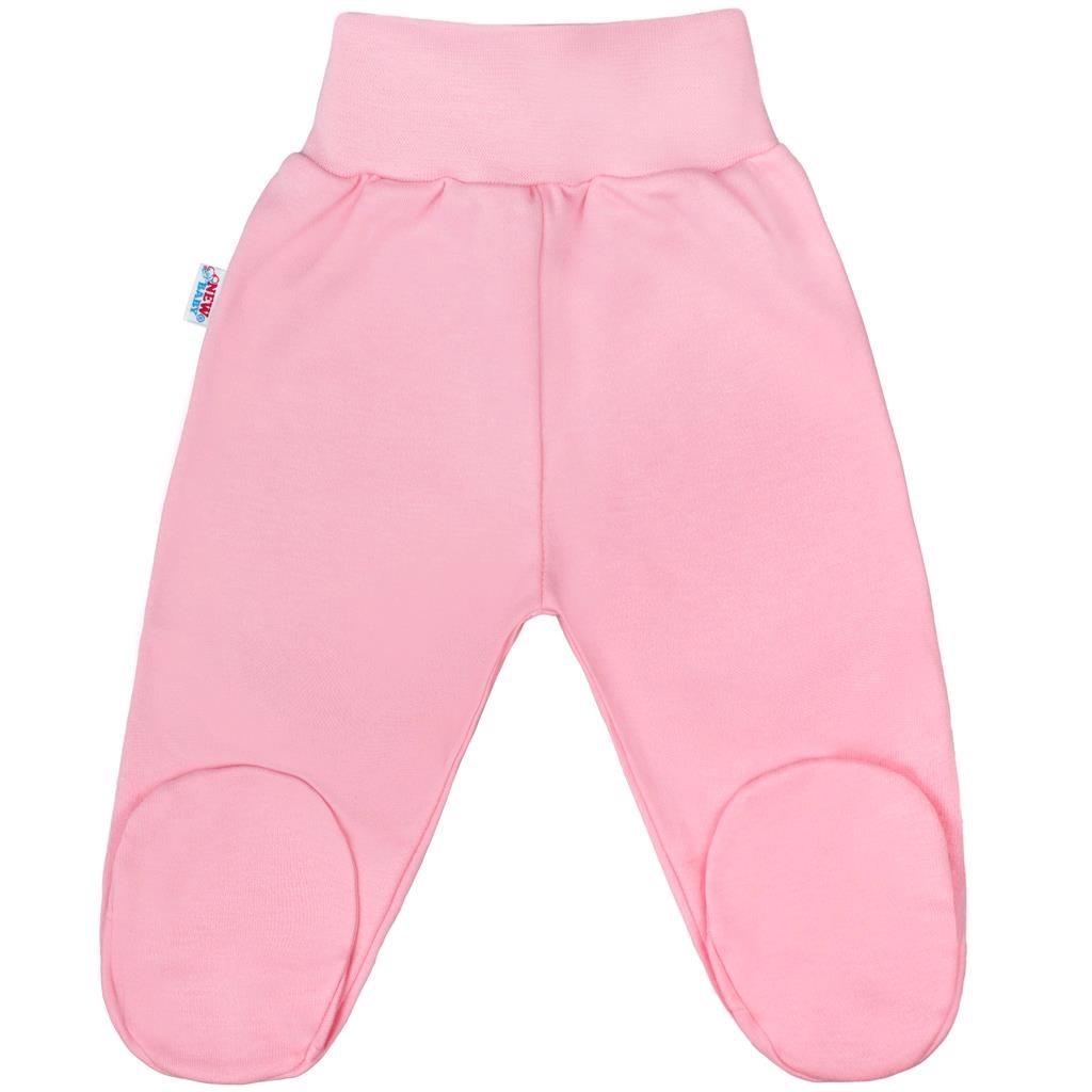 Kojenecké polodupačky New Baby Classic II růžové - 56 (0-3m)