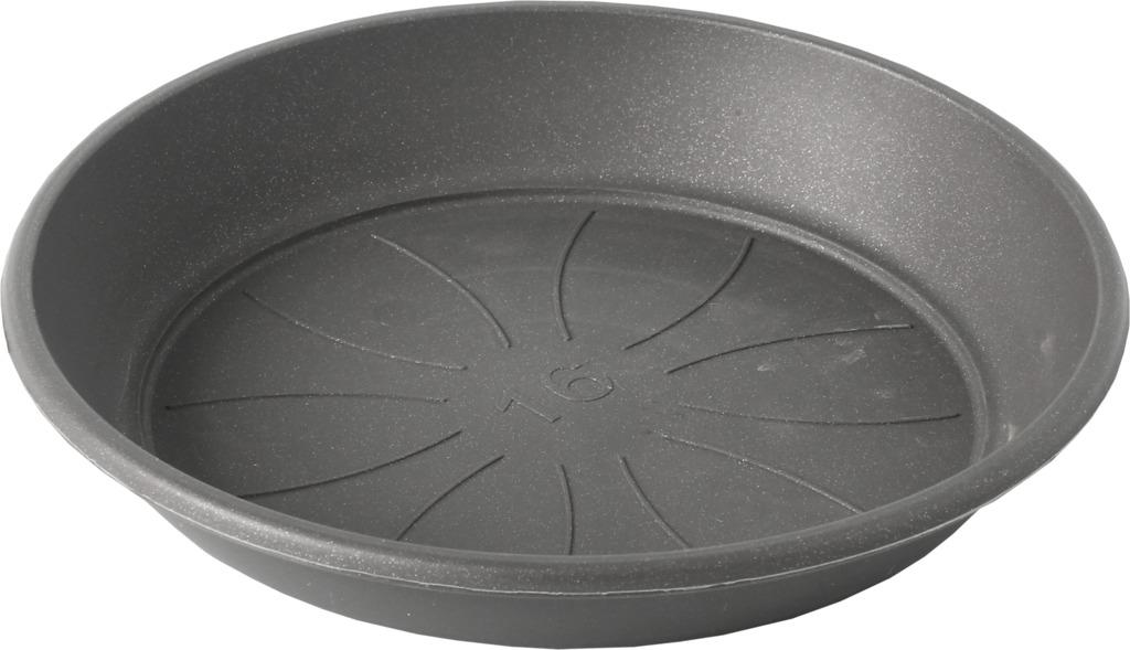 Plastia miska Azalea - anthracite 16 cm