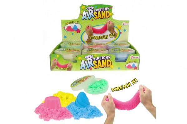 Kouzelný písek pomalu tekoucí tvořivá tvarovací hmota sliz 50g 4 barvy v plast.krabičce