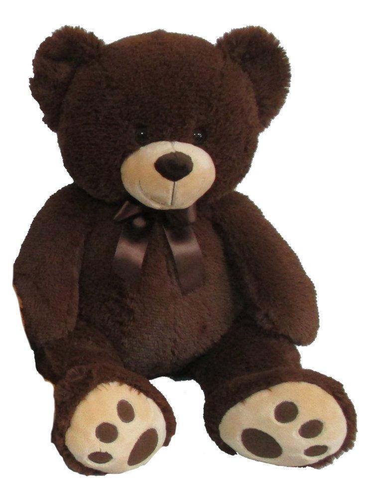 Mac Toys Plyšový medvídek tmavě hnědý