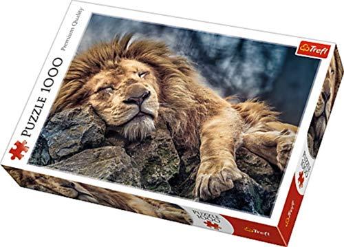 Puzzle Spící Lev 1000 dílků